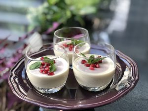 coconut pomegranate tapioca recipe